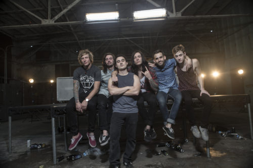 The Word Alive and Frankie Nasso
