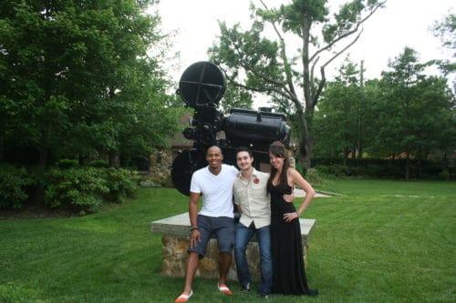 Mehcad Brooks and Jaimyse Haft of Mystic Seekers at Nova Studios