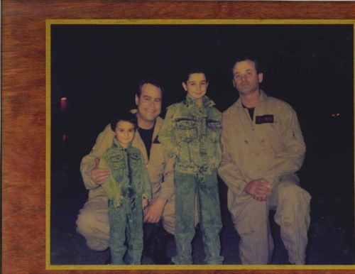 On Set of GHOSTBUSTERS II with Venkman & Stantz!