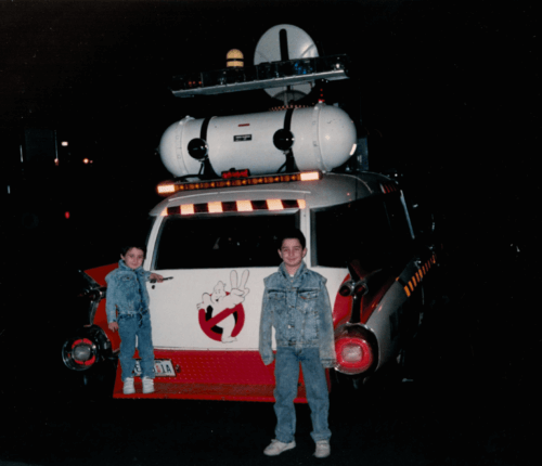 On Set of GHOSTBUSTERS II - Best Day of My Childhood