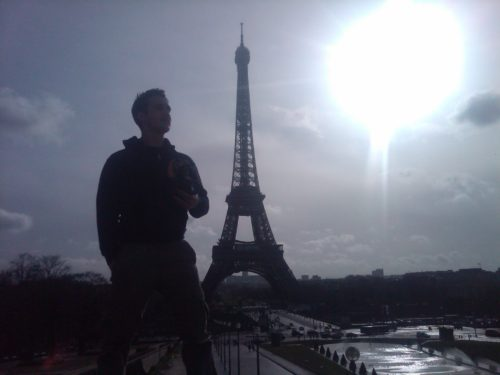 Filming Sing Your Song in Paris