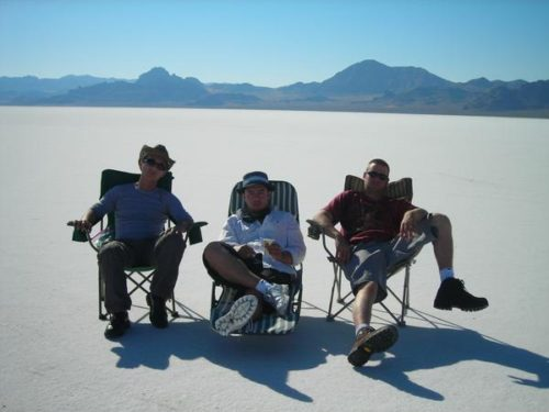 Wendover Salt Flats, Utah for INFIDEL